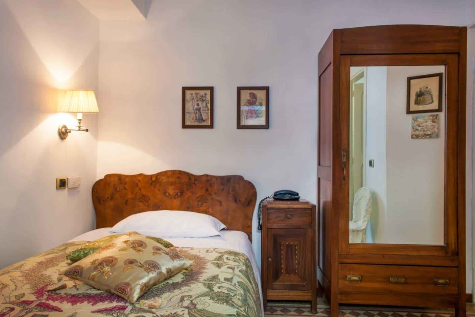 camera singola Mattei Hotel Antico Furlo